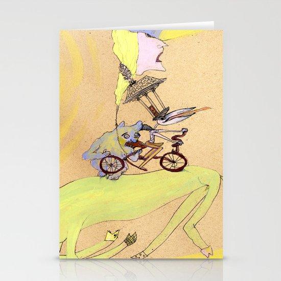 sketchbook page Stationery Cards