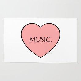 Music. Rug