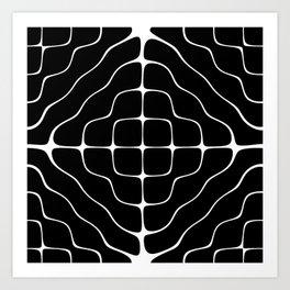 Energy Vibration 5. Frequency - Chladni - Cymatics Art Print