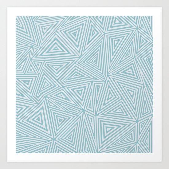 Ab Geo Salt Water Art Print