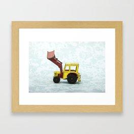 Vintage Corgi Junior - Massey Ferguson Tractor Framed Art Print