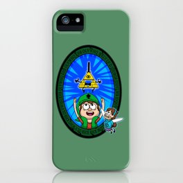 Gravity Falls: Hyrule Falls iPhone Case