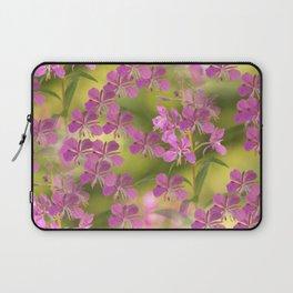 Rosebay Willowherb Flowers #decor #society6 Laptop Sleeve