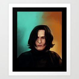 Severus Snape Art Print
