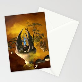 The forgotten world Stationery Cards