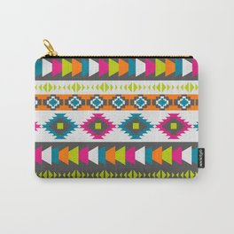 Happy multicolored southwestern pattern Carry-All Pouch
