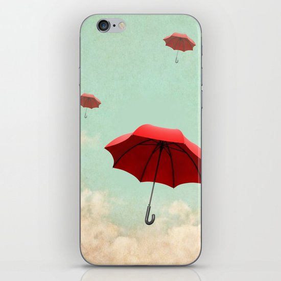 rising into the blue iPhone & iPod Skin