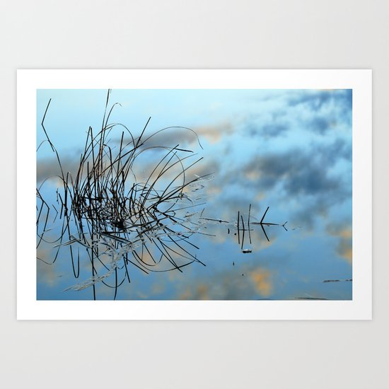 graphics in nature Art Print
