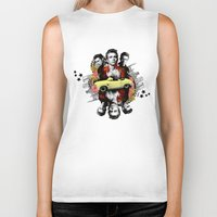 james franco Biker Tanks featuring James by Jean-Michel Lopez