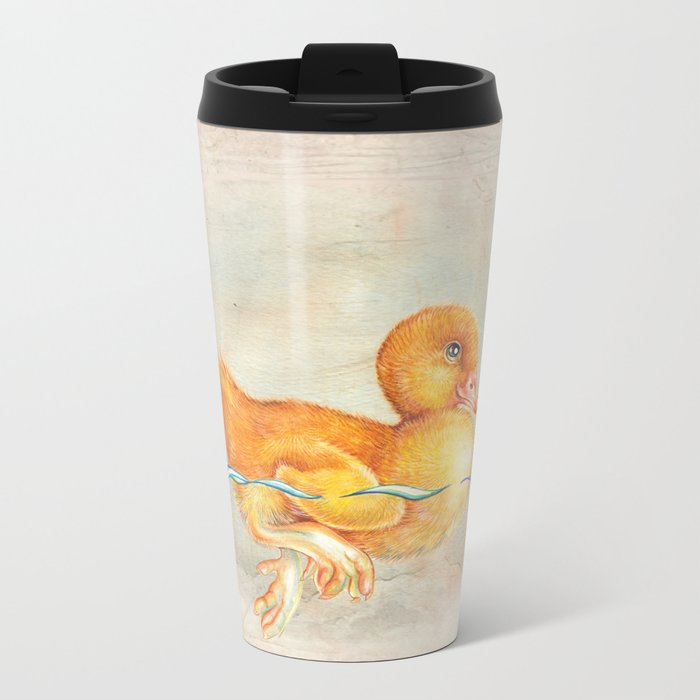 Duckling Metal Travel Mug