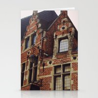 brussels Stationery Cards featuring Brussels by monography