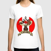 canada T-shirts featuring CANADA by scarah