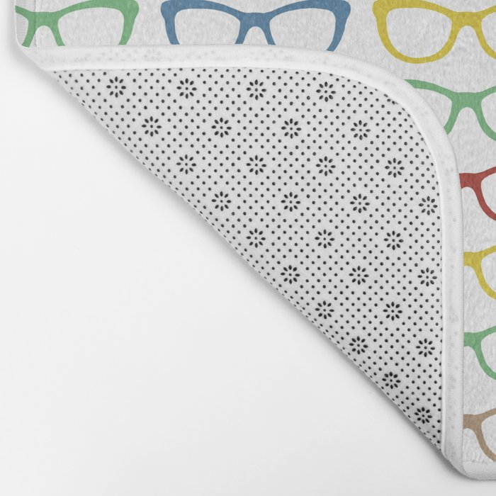 Rainbow Specs Bath Mat