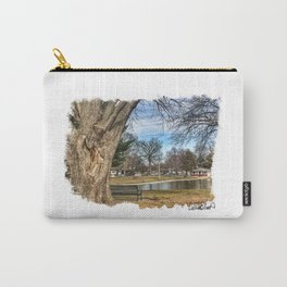 Heart Tree at Lagoon Carry-All Pouch