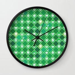 The Nik-Nak Bros. Veggie Greene Wall Clock