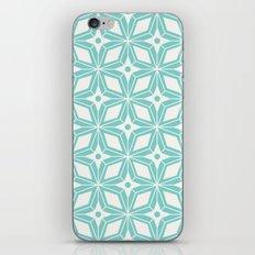 Starburst - Aqua iPhone & iPod Skin