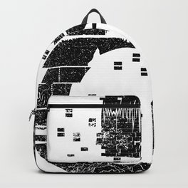 Love Techno Music Backpack