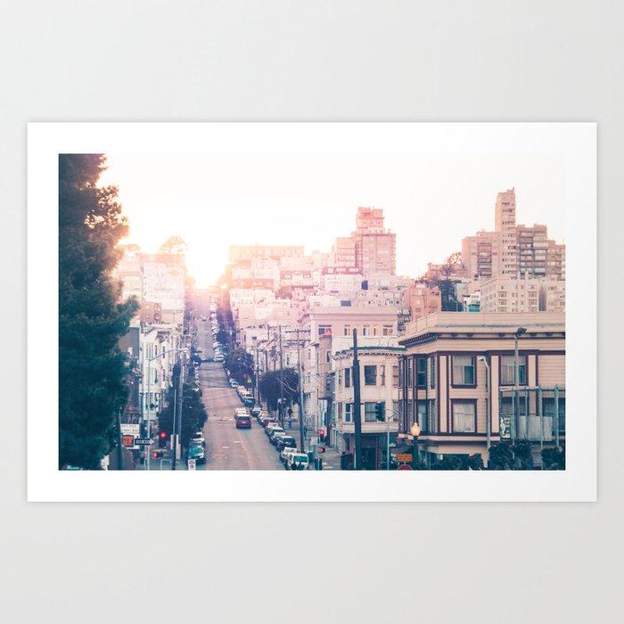 Hills of San Francisco Fine Art Print  • Travel Photography • Wall Art Art Print