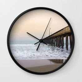 Cayucos California Coast Wall Clock