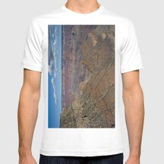 The Grand Canyon Dry Color Mens Fitted Tee MEDIUM White