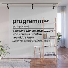 programmer definition Wall Mural