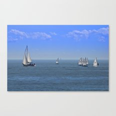 Sailing for the Day  Canvas Print