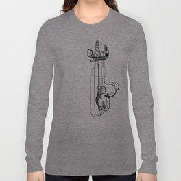 Rigged Heart - pumping nonesense Long Sleeve T-shirt
