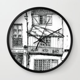 Rue Galande Wall Clock