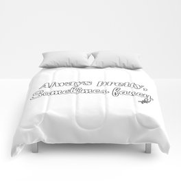 Sometimes Fancy Comforters