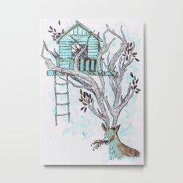 Theres No Place Like Home Metal Print