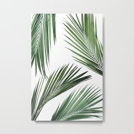 Palm Leaf Photography | Tropical Art | Summer | Wild Things Metal Print