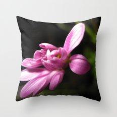 Purple Alone Throw Pillow