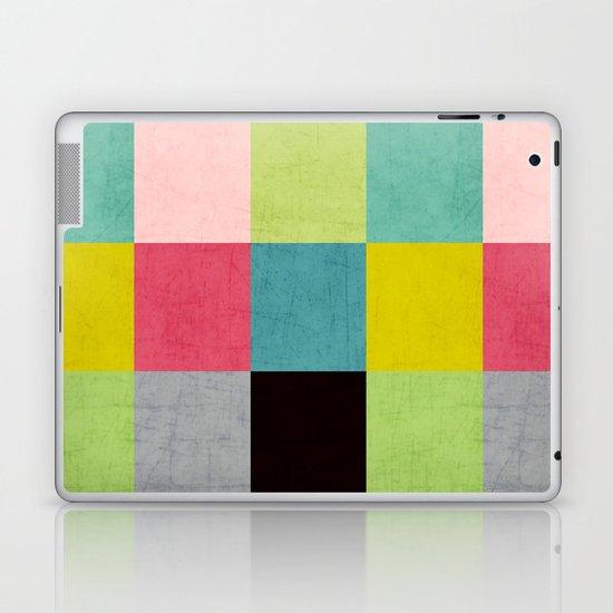 color block II Laptop & iPad Skin
