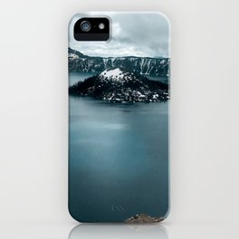 Mountain Lake View iPhone Case