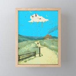 DREAMING IN FOOTHILLS Framed Mini Art Print