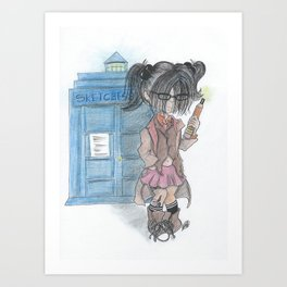 Doctor Sketches Art Print