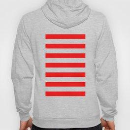 red stripes Hoody