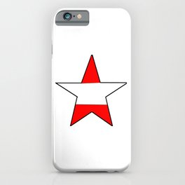 flag of austria 6 -Österreich,Austrian,Österreicher,Vienna,Salzburg,Mozart, Schoenberg iPhone Case