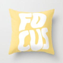 Focus Wave Throw Pillow