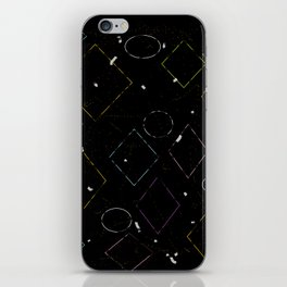 Tipping Squares iPhone Skin