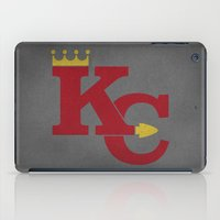 kansas city iPad Cases featuring Kansas City Sports Red by Haley Jo Phoenix