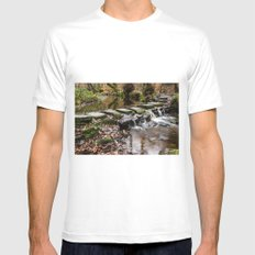 Stepping Stones Mens Fitted Tee White SMALL