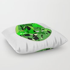 GEMS - green , expensive look , luxury and shine Floor Pillow