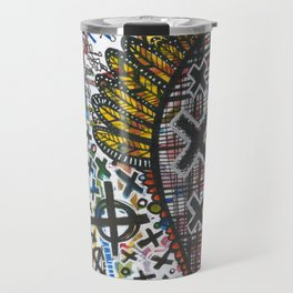 Feathers or Rockets Travel Mug