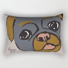 Pickle - gray/oker Rectangular Pillow