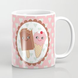 Ice creams in love Coffee Mug