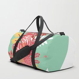 Feelings (Light Green) Duffle Bag