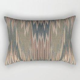 Native Cod Grey Rectangular Pillow