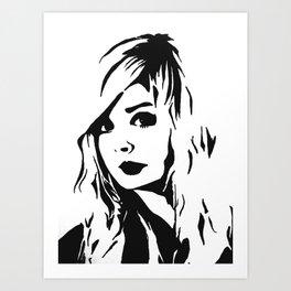 Nina Nesbitt Art Print