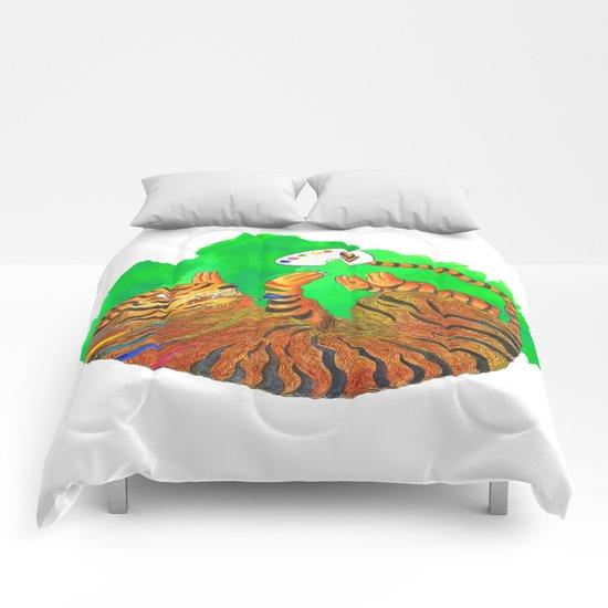 Artist Tiger Comforters